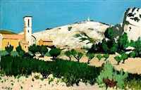 paysage provencal by robert humblot