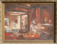 untitled - the kitchen by stanley sobossek