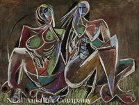 two women by paul ninas