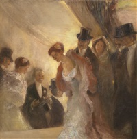 à l'opéra by gaston la touche