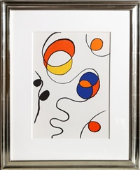 spirals ii from derrier le mirroir by alexander calder