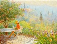terrasse en provence by claude fossoux