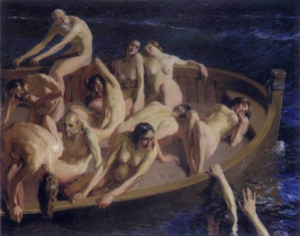 la barque by daniel sabater y salabert