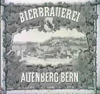 bierbrauerei altenberg, bern by f. lips