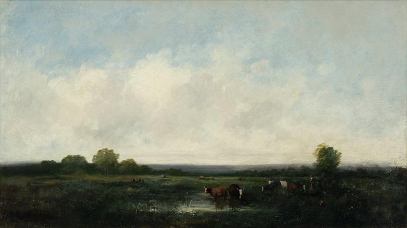 paysage du berry by jules dupré