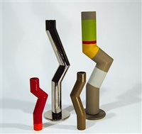 vases tubes (various sizes; set of 4) by arik levy