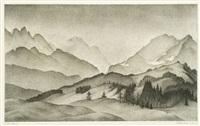 bergwelt by alexander kanoldt