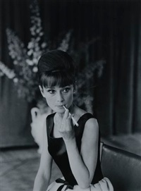 audrey hepburn. paris, juin by luc fournol