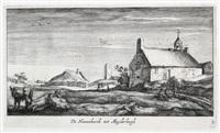 de nieuwekerck tot muyderbergh (from dreizehn landschaften bei amsterdam) by geertruyd roghman