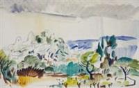 italianate landscape by douglas macdiarmid