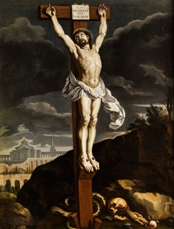 christus am kreuz by philippe de champaigne