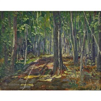 trees: cote st. charles, hudson heights by frederick william hutchison