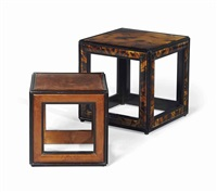 deux tables bouts de canape (set of 2) by renzo mongiardino