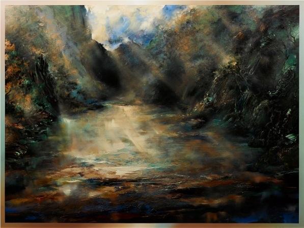 enigma of solitude tasmanian wilderness by david voigt