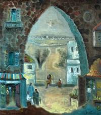 figures in jerusalem by albert goldman