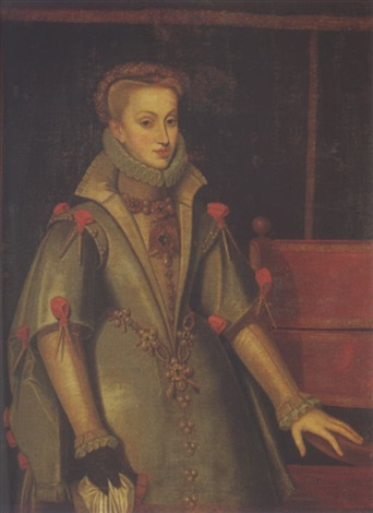 portrait of anne of austria by bartolomé gonzalez