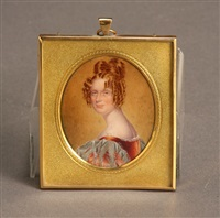 miniature portrait of a lady by henry collen