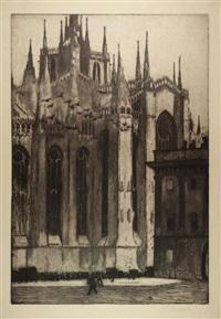 la grande cattedrale (il duomo di milano) by francesco chiappelli
