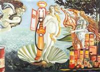 naissance de vénus by shell by jean-pierre camion