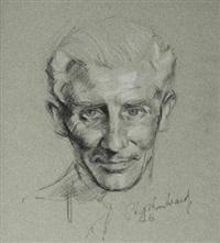 portrait of douglas fairbanks by stephen ward
