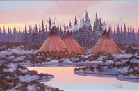 tepees by ron bailey