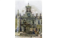 venetian church by ken howard