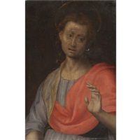 a male saint by pontormo (jacopo carucci)