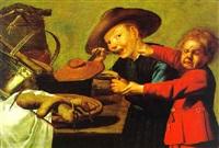 zwei kanben streiten um die suppe by petrus staverenus