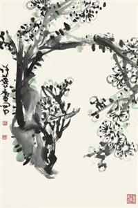 白梅 by xu linlu