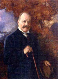 portrait of david gardiner by c. f. pereira