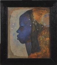 profil de femme by bernard séjourné