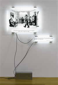 double reading #13 (in 2 parts) by joseph kosuth