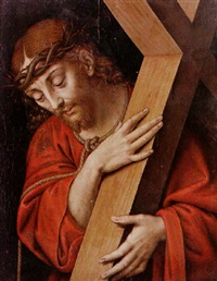 christ bearing the cross by andrea solario