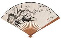 梅竹二君子 (plum blossom) by jiang miaoxiang