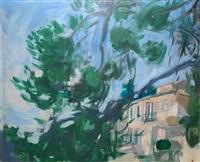 maison aux grand arbre by waclaw zawadowski