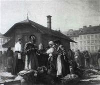 am wiener naschmarkt by carl massmann