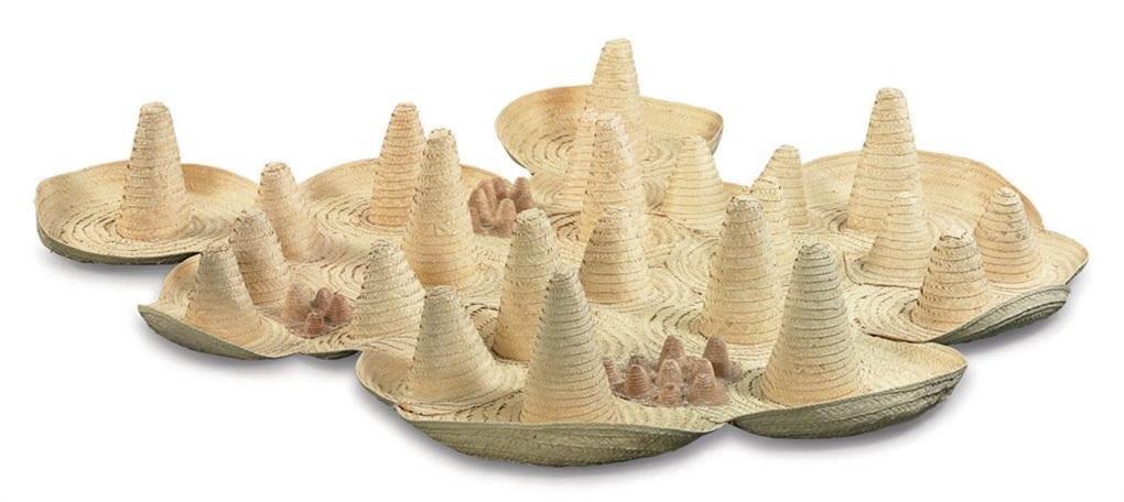 sombreros colectivos by pedro reyes