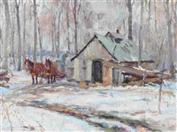 sugar shack by manly edward macdonald