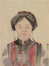 民族少女 by pang xunqin