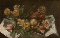 jetée de roses by carel nicolaas storm van 's-gravensande