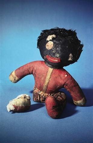 untitled black doll from propo series by paul mccarthy