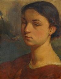 portrait de jeanne lafnet by luc lafnet