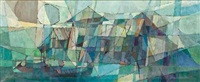 perahu (boats) by but mochtar