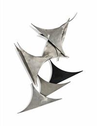 abstract wall sculpture by del filardi
