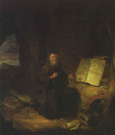 saint jerome by jacob van spreeuwen