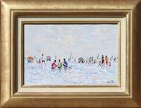 jour blanc sur la plage by christian baechler