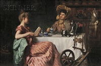 afternoon tea by richard lionel de lisser