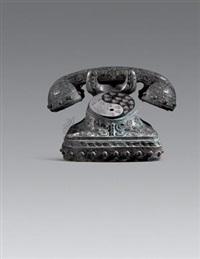 青铜电话 (bronze telephone) by xu baozhong
