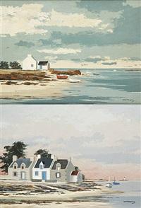 côtes bretonnes (2 works) by jacques wolmans