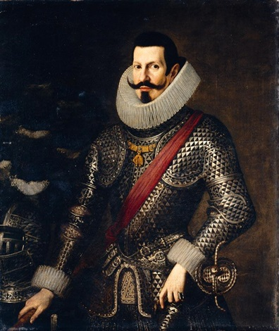 portrait of a gentleman believed to be don antonio de moncada y de aragón v duque de montalto by bartolomé gonzalez